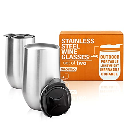 Review Large Stainless Steel Wine