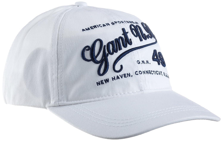 Gant - Gorra para Mujer, Talla Talla única, Color Blanco: Amazon ...