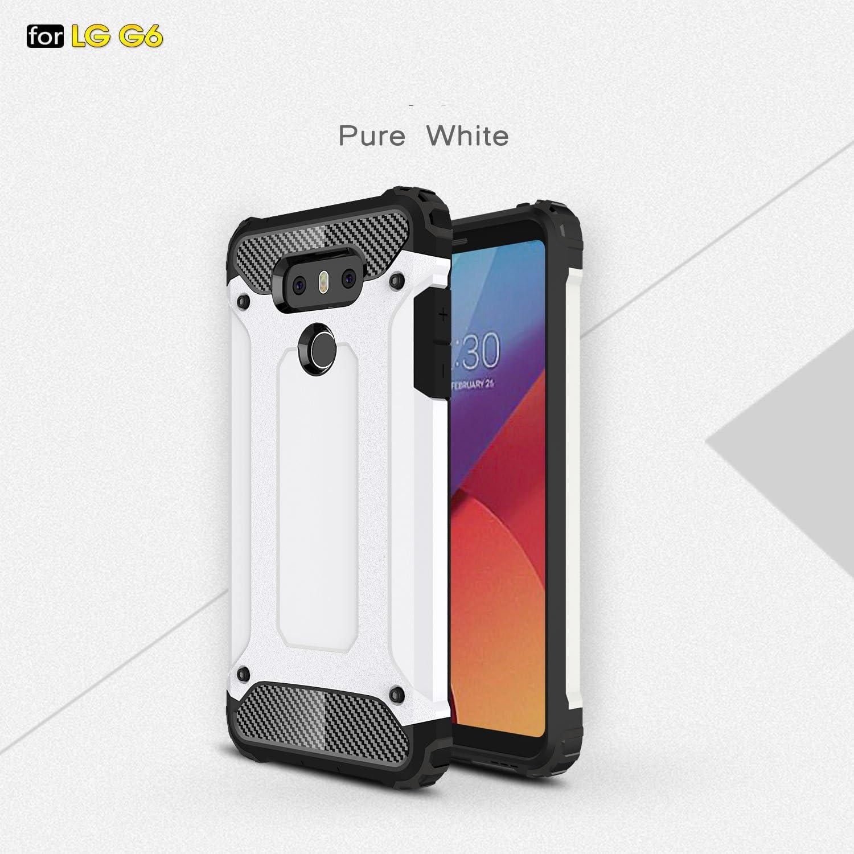 G-Hawk® LG G6,2 en 1 Difícil Shell, Libre de Contaminación PC + ...