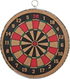 Sunshine Annie 16-inch 2-in-1 Magnetic Dart Board Set (Multicolour, SBC456)