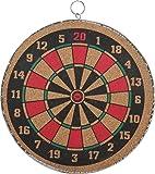 Sunshine 16 Inch Darts Board Set with Magnetic Dart Board, 2 in 1 Dart Board Multi Color