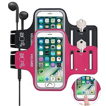 [2-Unidades] VGUARD Brazalete Deportivo para 5.1 Pulgados Moviles iPhone 8 7 6s