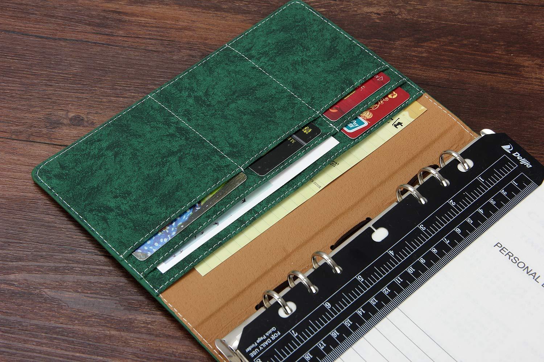 YHH A5 Agenda 2019/2020 DIY, 6 Anillas Mensual Semana Diario SIN FECHAS Crafty Planner Undated Organizador Personal Libreta Bonitas Cuaderno para ...