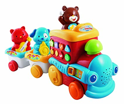 Amazon.com: VTech Musical Fun Choo Choo: Toys & Games