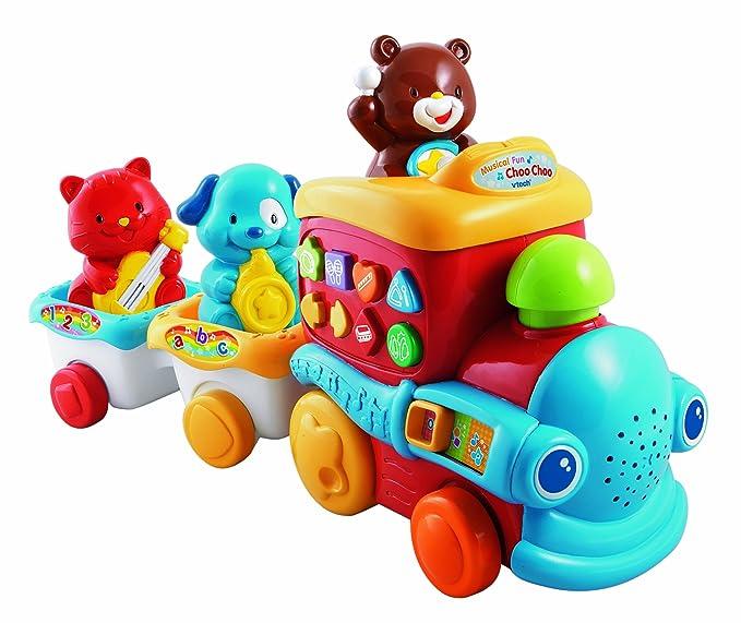 Amazon.com: VTech Musical Fun Choo Choo: Toys & Games