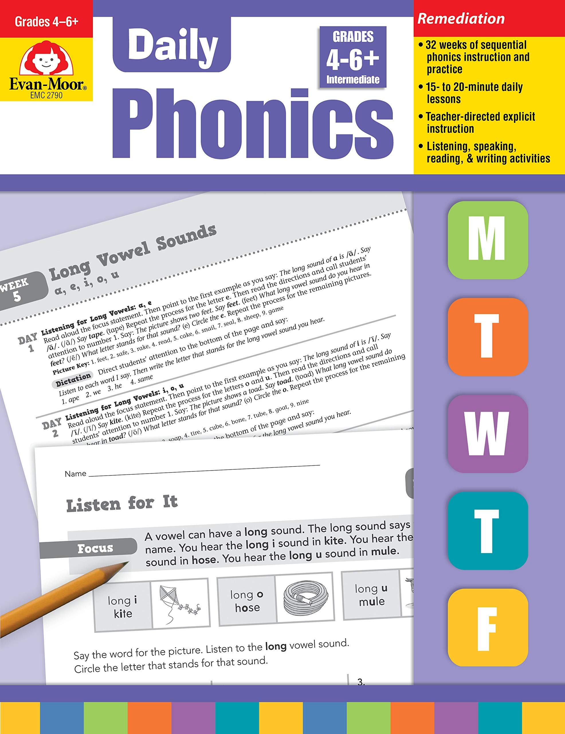 Daily Phonics, Grade 4-6 by EVAN-MOOR