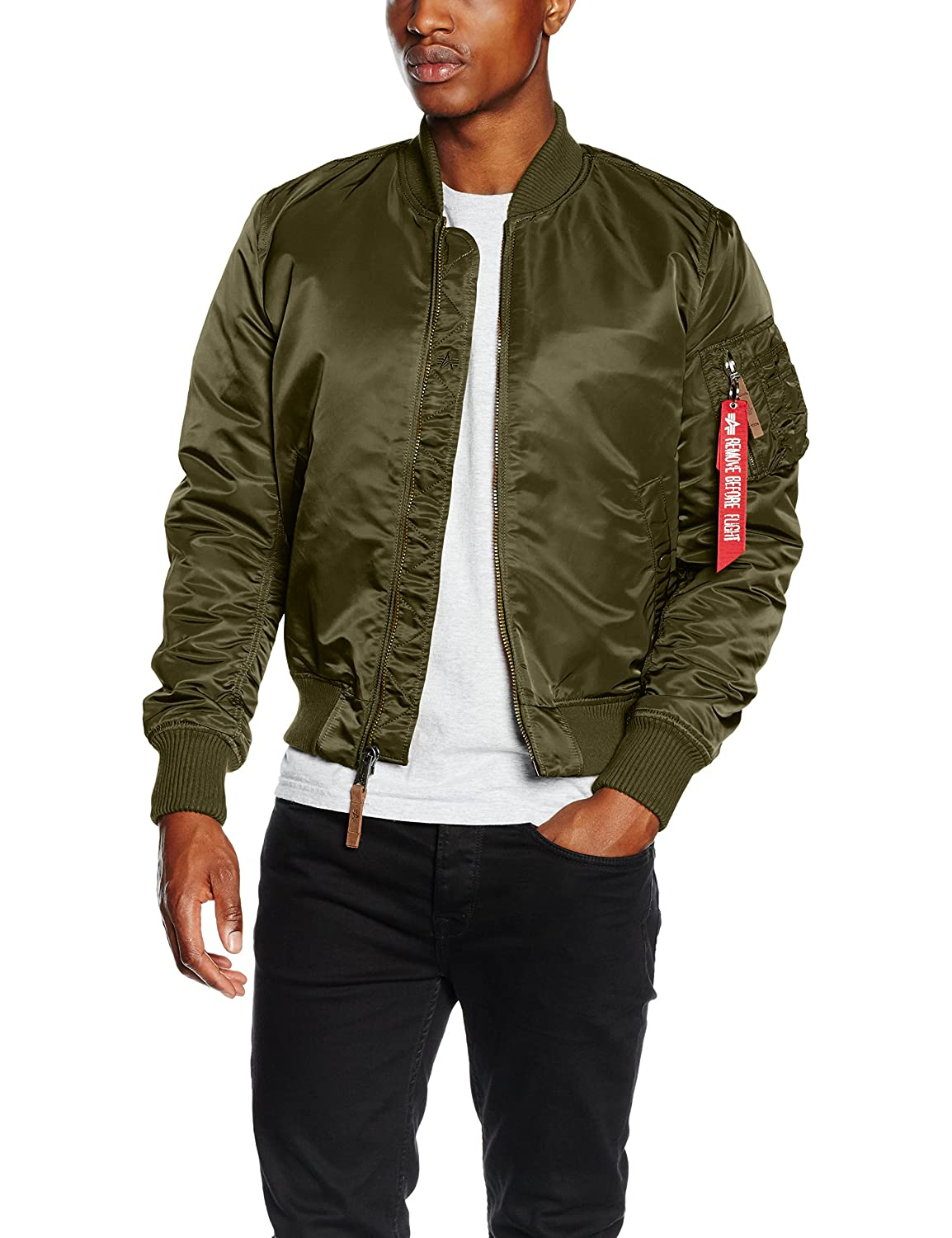 more photos 4d4c2 ace7f Alpha Industries Men Bomber Jackets MA-1 VF 59