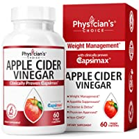 60-Ct Physician's Choice Apple Cider Vinegar Capsules