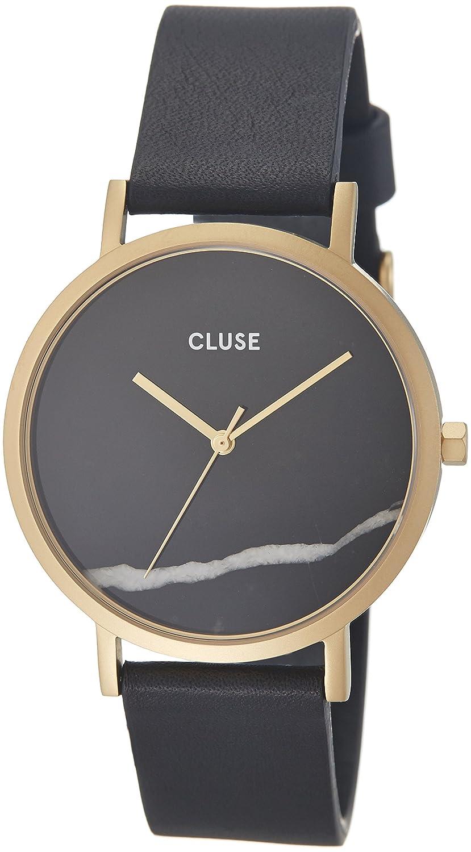 Cluse Unisex-Armbanduhr Analog Quarz Leder CL40004