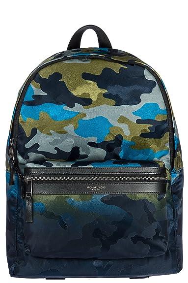 b7fc5e92a3cb Michael Kors men's Nylon rucksack backpack travel blu: Amazon.co.uk ...
