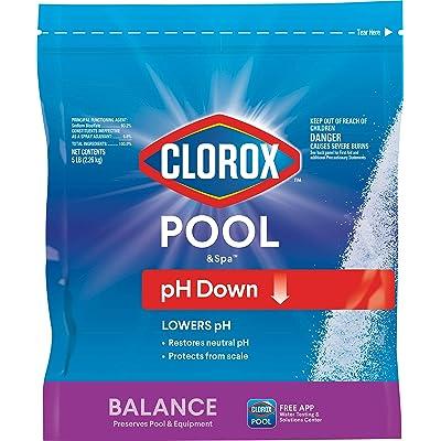 CLOROX Pool&Spa 12105CLX pH Down, 5 lb : Garden & Outdoor