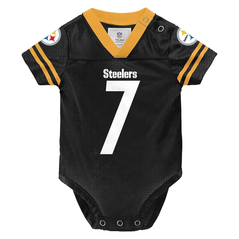 Nice durable modeling Ben Roethlisberger Pittsburgh Steelers #7 Black