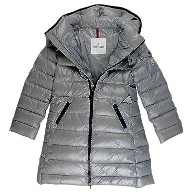 purchase cheap 5dea8 a3be7 Moncler Daunenmantel Moka - grau, Größe:8 Jahre / 128 ...