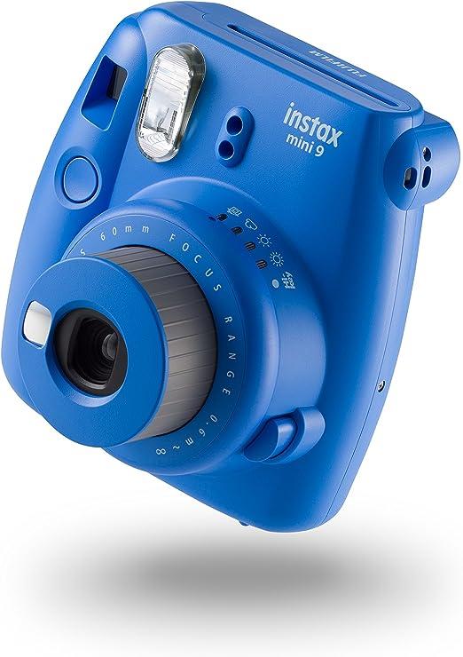 Fujifilm Instax Mini 9 Kamera Kobalt Blau Mit 10 Kamera