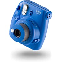 instax Mini 9 Camera with 10 Shots - Cobalt Blue