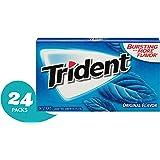 Trident 原味无糖口香糖, 每件14块 (24件装)