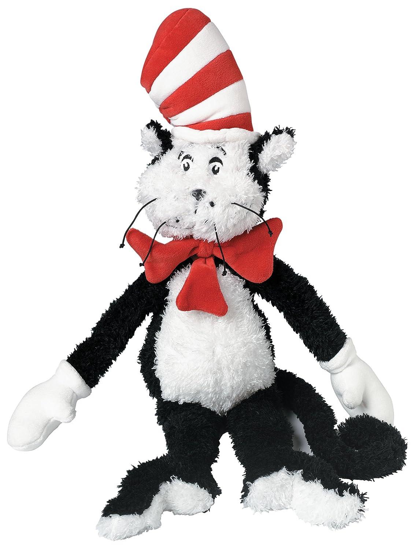 Amazon Com Manhattan Toy Dr Seuss Cat In The Hat 20 Soft Stuffed