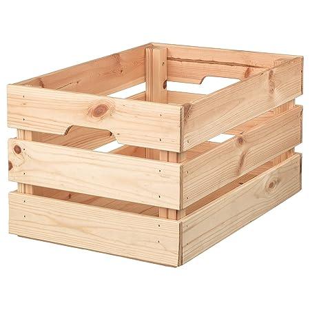 IKEA.. 702.923.59 - Caja de Madera de Pino: Amazon.es: Hogar