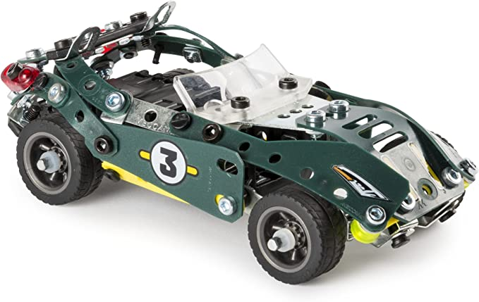 Meccano 5-in-1 Pull Back Sports Car Construction Kit 6040176