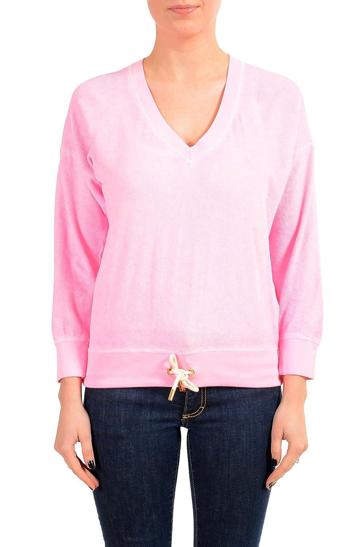 Pink DSQUARED2 Women's Pink VNeck Sweatshirt