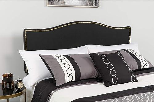 EMMA OLIVER Upholstered King Size Headboard