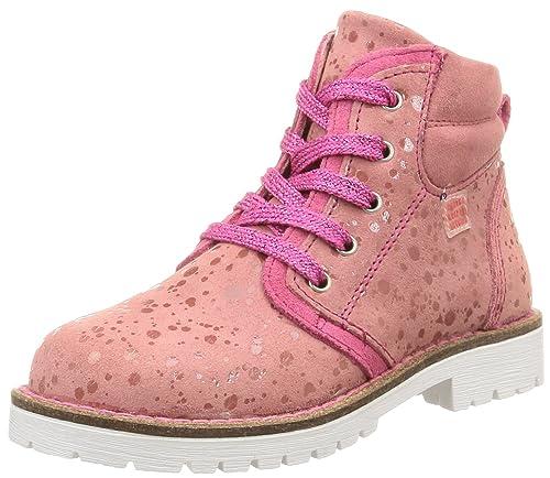 Agatha Ruiz de la Prada 151960 - Botines para niñas, Color Rosa (Serraje Laminado), Talla 25: Amazon.es: Zapatos y complementos
