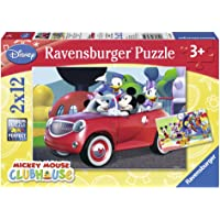 Ravensburger Wd Mickey Mousse 2x12P Puzzle 75652
