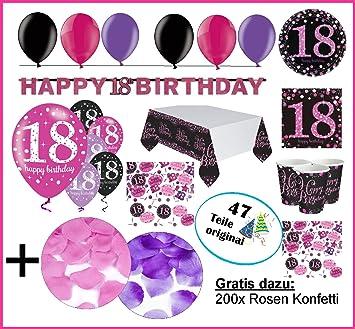 Fijo celebran Decoración de 18º cumpleaños, cumpleaños ...