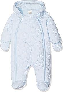 b25f64f94 Mothercare Baby Boys' Velour Graphic Pramsuit Bodysuit: Amazon.co.uk ...