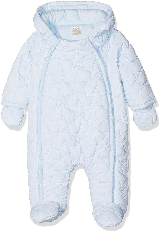 Mamas & Papas Quilted Pramsuit Blue, Traje de esquí para Bebés Mamas and Papas