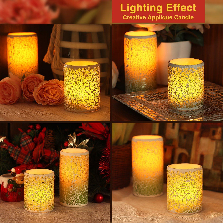81nSYH8DX8L._SL1500_ Stilvolle Warum Flackern Kerzen Im Glas Dekorationen