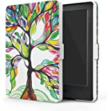 "MoKo Case for All-New Kindle E-reader (8th Generation 2016) - The Thinnest and Lightest SmartShell Cover with Auto Wake/Sleep for Amazon All-New Kindle (6"" Display, 8th Gen 2016 Release), Lucky TREE"