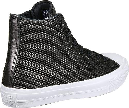 3f55980f Converse All Star II Hi W Calzado Black/White: Amazon.es: Zapatos y  complementos