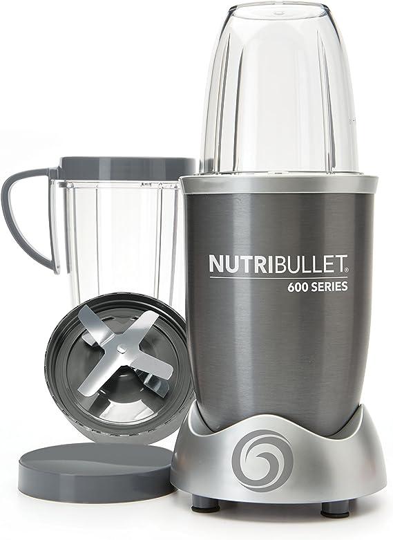 NutriBullet NUTRI600G Batidora de vaso 950L 600W Gris - Licuadora ...