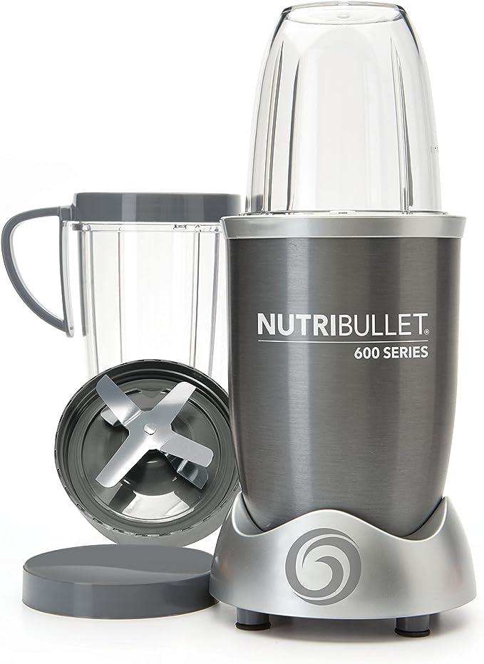 NutriBullet NUTRI600G Batidora de vaso 950L 600W Gris -