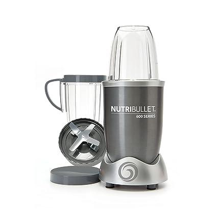 NutriBullet NUTRI600G Batidora de vaso 950L 600W Gris - Licuadora (950 L, 21500 RPM