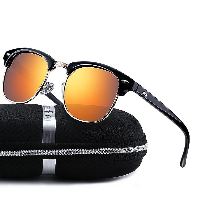Amazon.com: Clubmaster WP1006 - Gafas de sol polarizadas ...