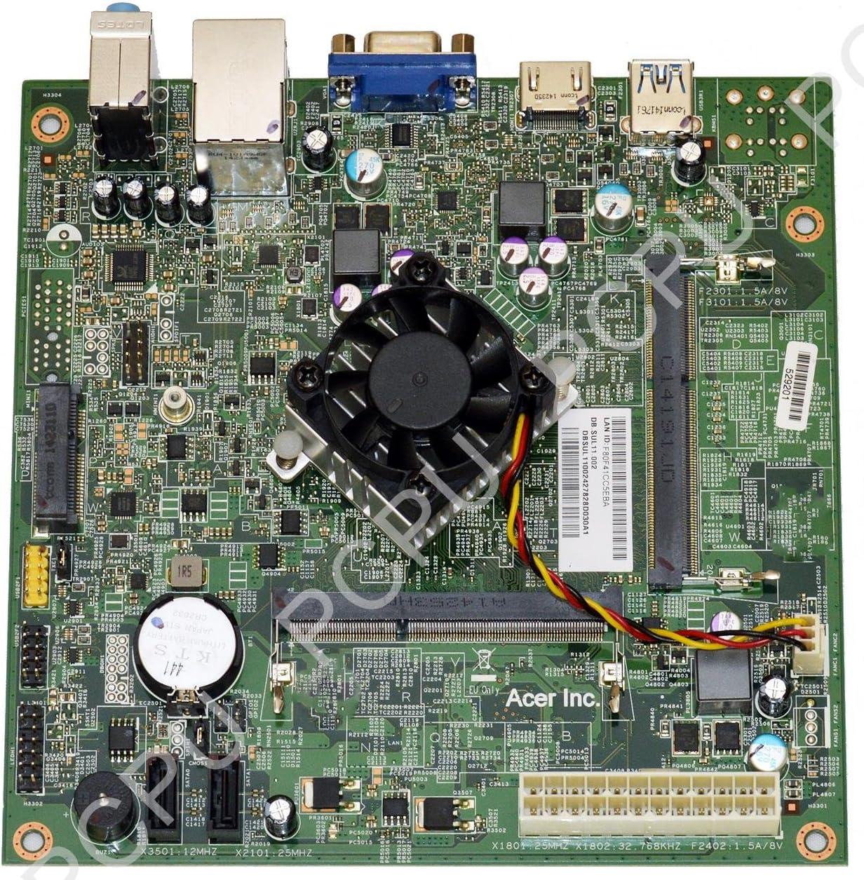 DB.SUL11.002 Acer Aspire AXC-603G Desktop Motherboard w/ Intel Celeron J1800 2.41Ghz CPU