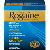 Men's Rogaine Hair Regrowth Treatment, Extra Strength - 3 Month Supply