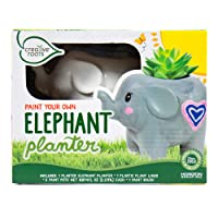 Deals on Creative Roots Paint Your Own Elephant Planter by Horizon Group