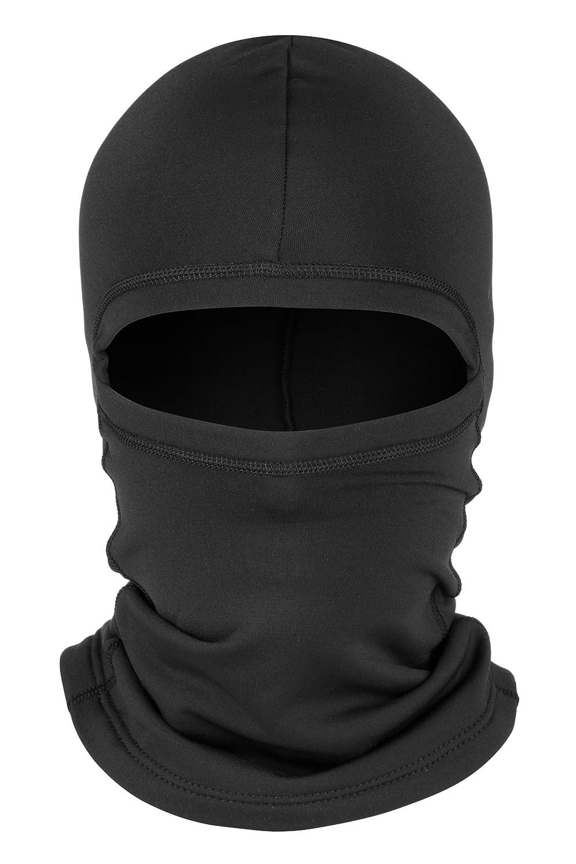 Zagano passamontagna//Maschera da sci//passamontagna//Maschera/ /Extra lungo sul collo/ /Nero e Bianco