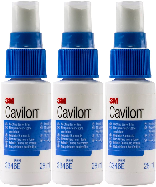 Cavilon No Sting Barrier Film - 28 ml Spray - Pack of 3 3M