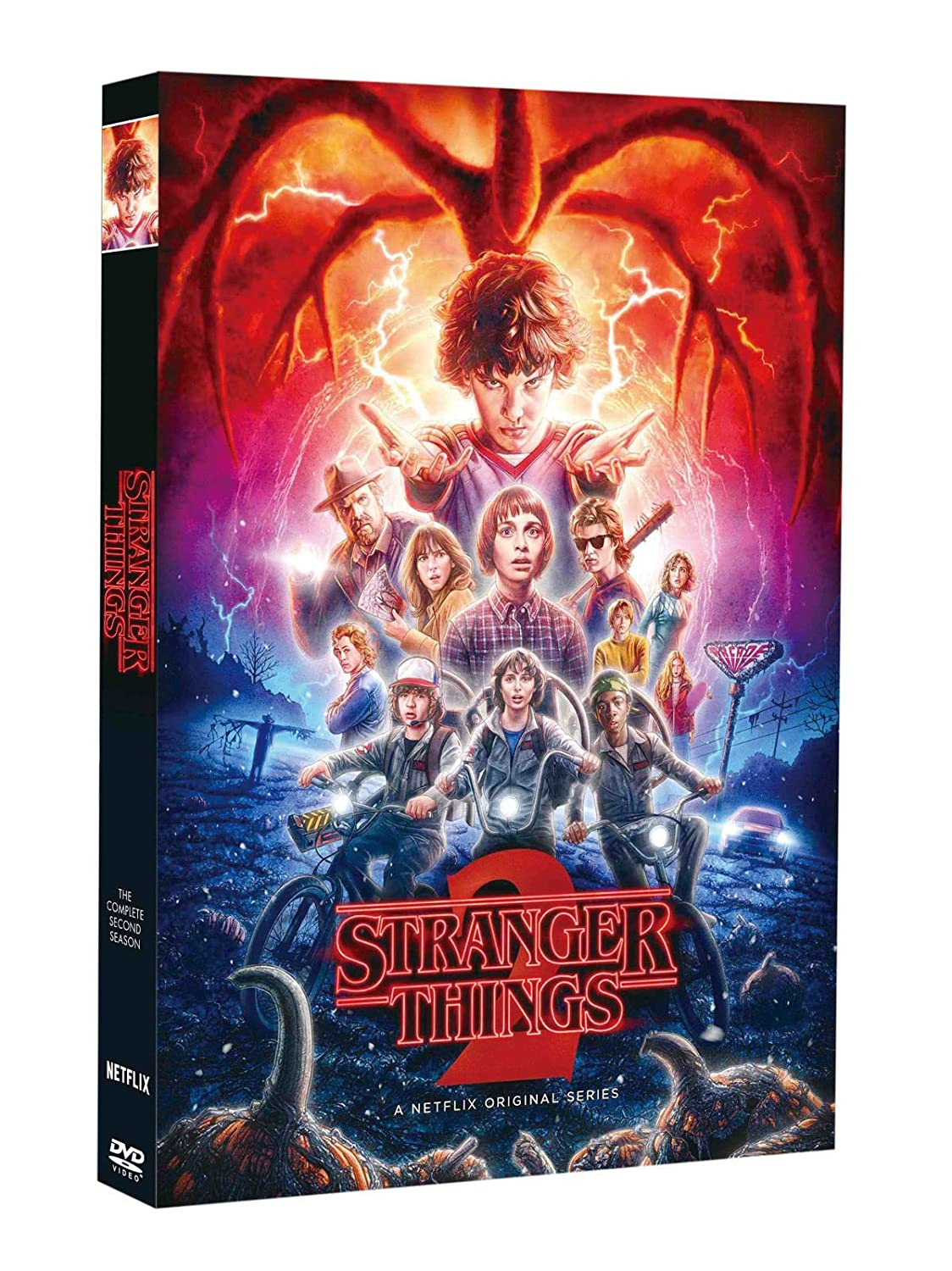 Stranger Things Season 2 (DVD, 2017, 3-Disc Set)
