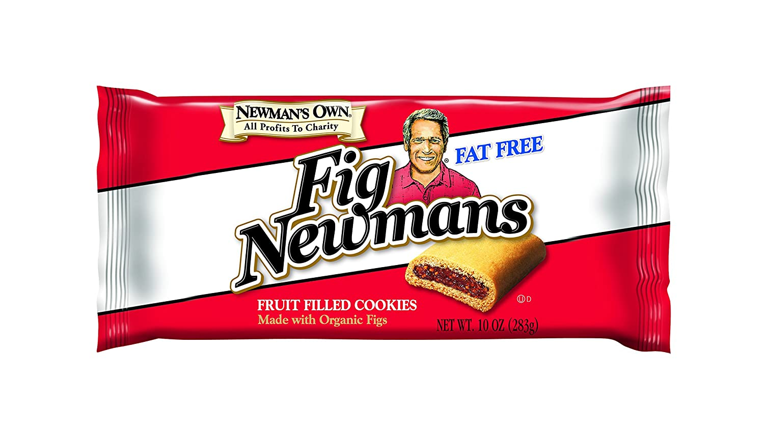 Newman's Own Fig Newmans, Fat Free, 10-oz. (Pack of 6)
