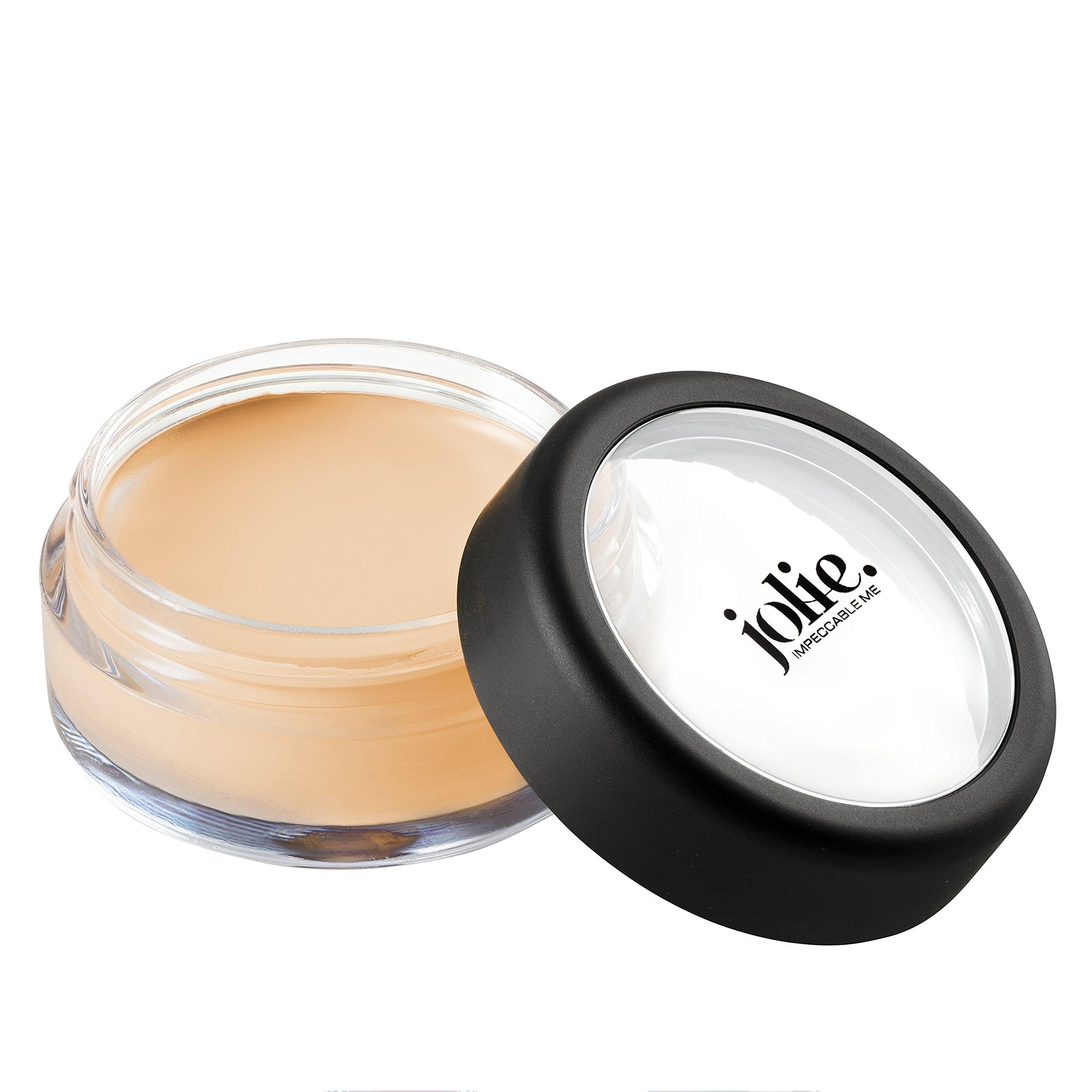 Jolie Total Coverage Conceal Under Eye & Facial Creme Concealer Pot (Amber)