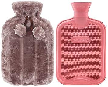 Amazon.com: Botella de agua caliente de goma clásica y ...