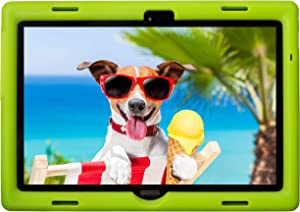 BobjGear Bobj Rugged Tablet Case for Lenovo Smart Tab M10 10.1 inch (TB-X605F, TB-X505F,I,L) and P10 (TB-X705F) Kid Friendly (Gotcha Green)
