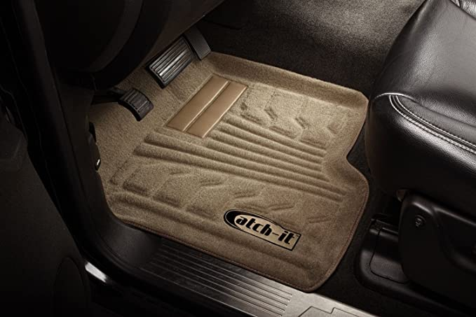 Set of 2 Lund 583113-T Catch-It Carpet Front Seat Floor Liner