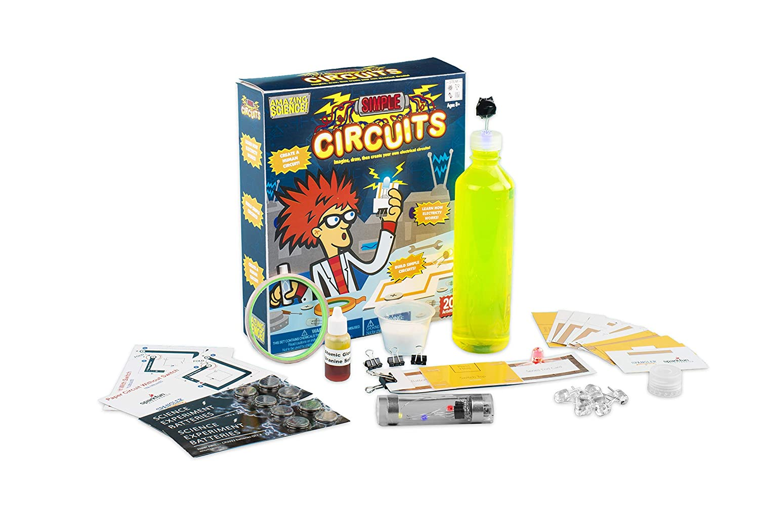 Toys Simple Circuits Kit 4840 Be Amazing