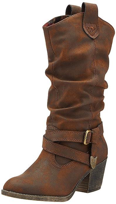 ventas calientes gran venta mirada detallada Rocket Dog Sidestep, Botas Camperas para Mujer: Amazon.es: Zapatos ...